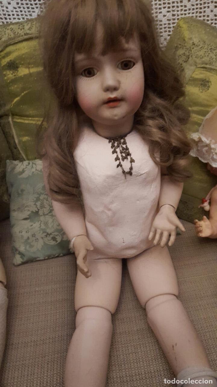 Muñecas Porcelana: Pareja de muñecas gran tamaño en porcelana - Foto 5 - 102509963