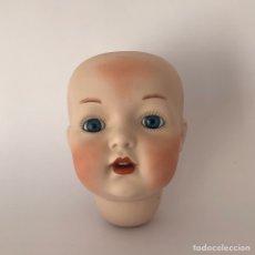 Muñecas Porcelana: CABEZA PORCELANA DE MUÑECA TIENE LOS NOMBRES SIMÓN & HALBIG. Lote 103040940