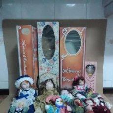 Muñecas Porcelana: (12) MUÑECAS DE PORCELANA. Lote 103171815