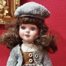 Muñecas Porcelana: BONITA MUÑECA DE PORCELANA. Lote 103446903