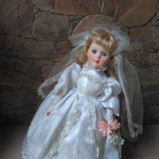 Muñecas Porcelana: NOVIA DE PORCELANA. Lote 103472075