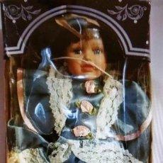Muñecas Porcelana: MUÑECA DE PORCELANA DE COLECCION AÑOS 80. Lote 103487055