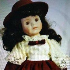 Muñecas Porcelana: MUÑECA DE PORCELANA AÑOS 80. Lote 103487331