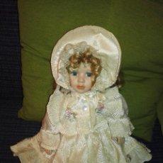 Muñecas Porcelana: MUÑECA DE PORCELANA DE COLECCION. Lote 103714375