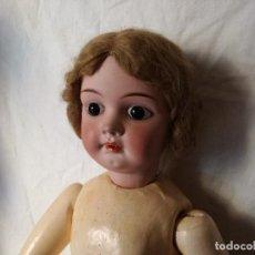 Muñecas Porcelana: MUÑECA DE PORCELANA DEL SIGLO XIX.. Lote 104047255