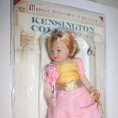 Muñecas Porcelana: LA CONCERTISTA DE ARPA *** MUÑECA VICTORIANA PORCELANA Nº 6 ** KENSINGTON COLLECTION **. . Lote 105038179