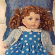 Muñecas Porcelana: MUÑECA DE PORCELANA GRANDE. 50 CM.. Lote 105208759