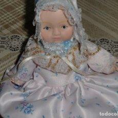 Muñecas Porcelana: EXCELENTE MINIMUÑECA DE ÉPOCA ANTIGUA MUY BONITA.. Lote 105430963