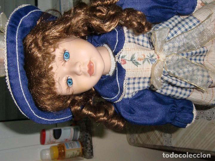 Muñecas Porcelana: EXTRAORDINARIA MUÑECA DE PORCELANA. - Foto 2 - 105437019