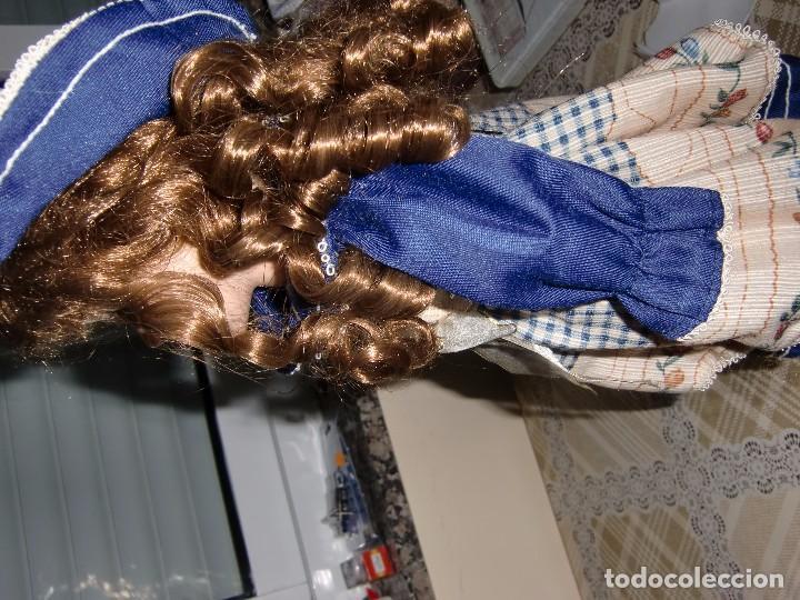 Muñecas Porcelana: EXTRAORDINARIA MUÑECA DE PORCELANA. - Foto 3 - 105437019