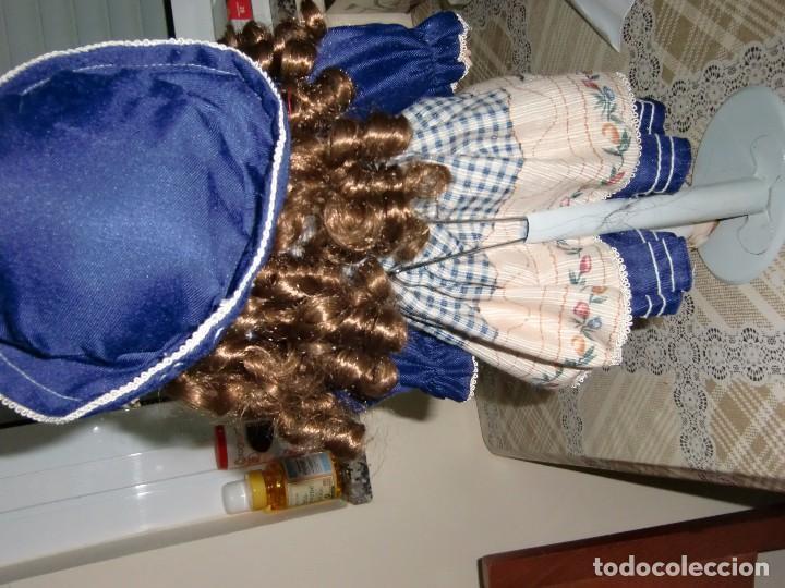 Muñecas Porcelana: EXTRAORDINARIA MUÑECA DE PORCELANA. - Foto 4 - 105437019