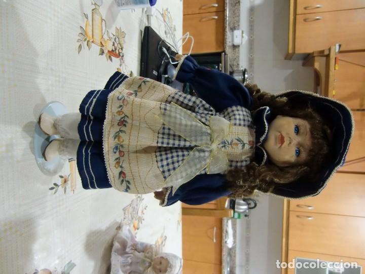 Muñecas Porcelana: EXTRAORDINARIA MUÑECA DE PORCELANA. - Foto 5 - 105437019
