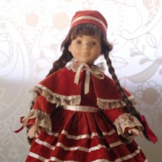 Muñecas Porcelana: MUÑECA DE PORCELANA LAURA-THE CLASSIQUE COLLECTION-VINTAGE. Lote 105557995