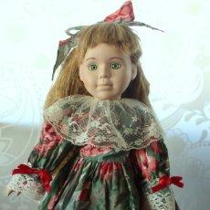 Muñecas Porcelana - MUÑECA DE PORCELANA DANIELLA-THE CLASSIQUE COLLECTION-NUMERADA - 105812207