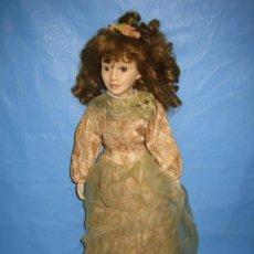 Muñecas Porcelana: X. ANTIGUA MUÑECA DE PORCELANA. MIDE 47 CM. Lote 106087387