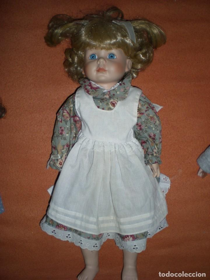 Muñecas Porcelana: graciosa muñeca porcelana carita muy dulce 44 cm completa de origen posiblemente alemania - Foto 2 - 106794223