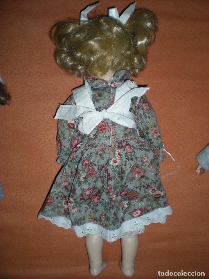 Muñecas Porcelana: graciosa muñeca porcelana carita muy dulce 44 cm completa de origen posiblemente alemania - Foto 4 - 106794223