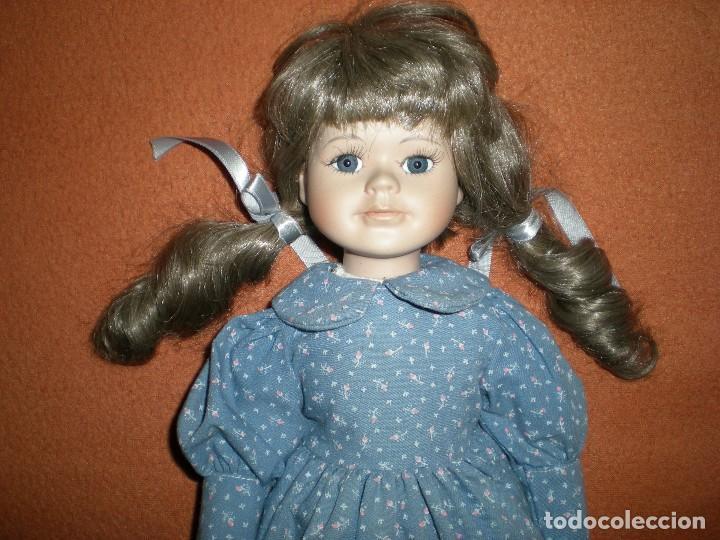 Muñecas Porcelana: bonita muñeca porcelana 39 cm completa de origen muy buen estado - Foto 2 - 106795047