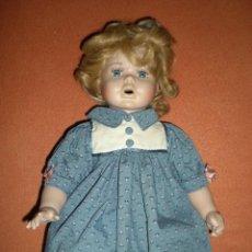 Muñecas Porcelana: BONITA MUÑECA PORCELANA ALEMANA 39 CM COMPLETA DE ORIGEN MUY BUEN ESTADO,COMO NUEVA . Lote 106795671