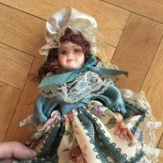 Muñecas Porcelana: ANTIGUA MUÑECA DE PORCELANA VESTIDO ORIGINAL. Lote 106917027