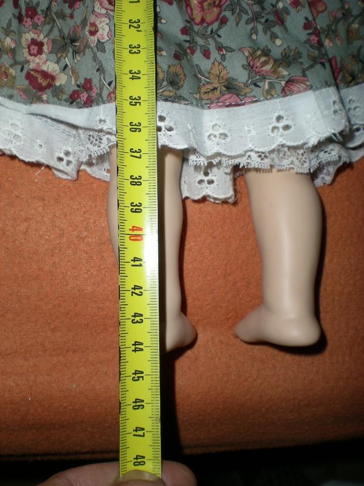 Muñecas Porcelana: graciosa muñeca porcelana carita muy dulce 44 cm completa de origen posiblemente alemania - Foto 5 - 106794223