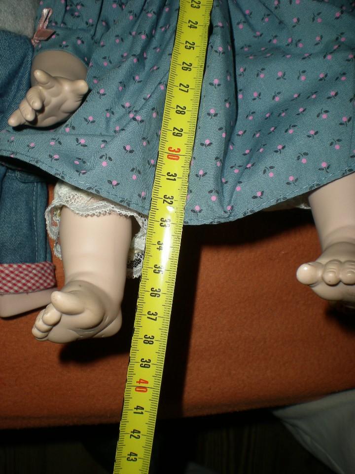 Muñecas Porcelana: bonita muñeca porcelana alemana 39 cm completa de origen muy buen estado,como nueva - Foto 6 - 106795671