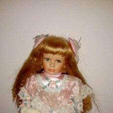 Muñecas Porcelana: MUÑECA PORCELANA-DE MARCA-PRECIOSA- PORCELANA. Lote 107541023