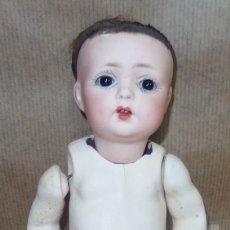 Muñecas Porcelana: DIFÍCIL BEBÉ DE FUISSEAUX O BEBÉ DE BADALONA,RARA NUMERACIÓN,PRINCIPIO DEL SIGLO XX. Lote 107706755
