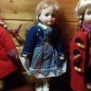 Muñecas Porcelana: LOTE DE 3 MUÑECAS DE PORCELANA Y TRAPO FRANCESAS. Lote 107740435