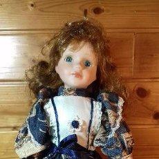 Muñecas Porcelana: MUÑECA DE PORCELANA Y TRAPO FRANCESA. Lote 107807319