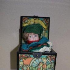Muñecas Porcelana: CAJA DE MUSICA Y MUÑECA DE PORCELANA AÑOS 80 . Lote 109094723