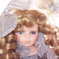 Muñecas Porcelana: MUÑECA DE PORCELANA INGLESA SAMPLE. Lote 109604887