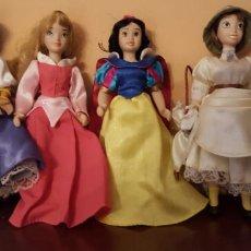 Muñecas Porcelana: 5 PRINCESAS DE DISNEY. Lote 110333242