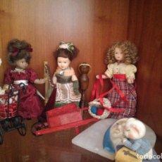 Muñecas Porcelana: 1 MUÑEQUITA DE PORCELANA CON COMPLEMENTO Y FASCÍCULO.. Lote 110606507