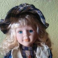 Muñecas Porcelana: MUÑECA PORCELANA DE COLECCIÓN. Lote 110873956