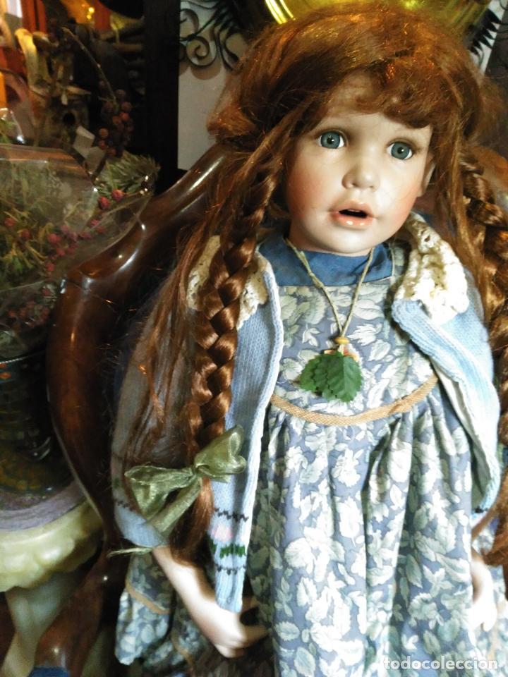 Muñecas Porcelana: IMPRESIONANTE ENORME 83 cm MUÑECA ALEMANA PORCELANA FIRMADA NÚMERADA nº 588 PERFECTO ESTADO 1700 EUR - Foto 3 - 111122075