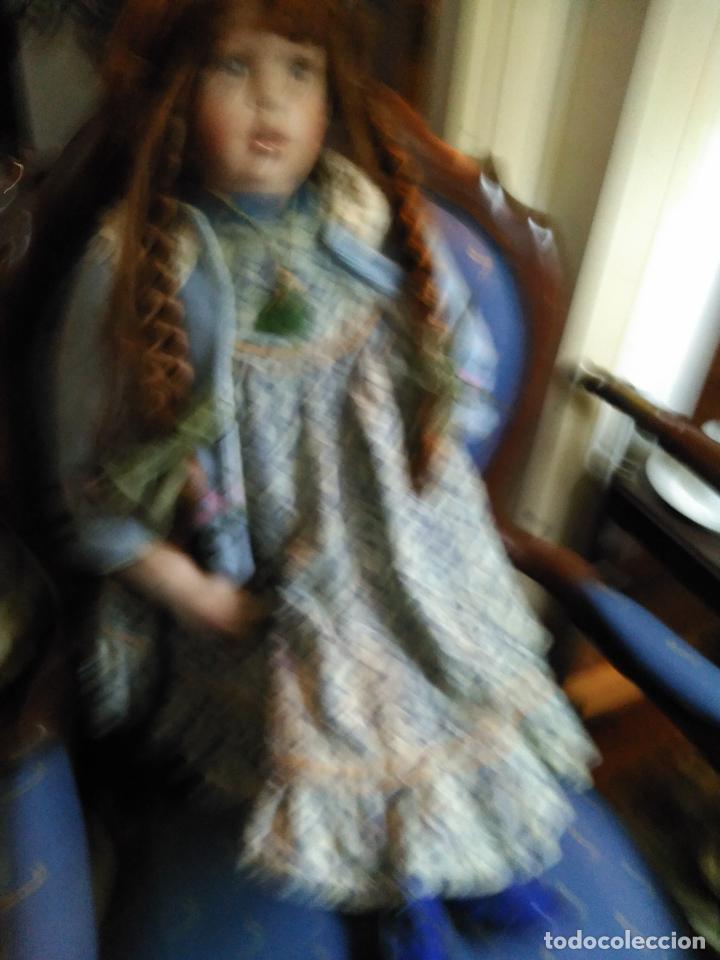 Muñecas Porcelana: IMPRESIONANTE ENORME 83 cm MUÑECA ALEMANA PORCELANA FIRMADA NÚMERADA nº 588 PERFECTO ESTADO 1700 EUR - Foto 8 - 111122075