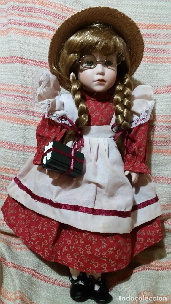 MUÑECA DE PORCELONA ALEMA BEAUTY ROMANTIC (Juguetes - Muñeca Extranjera Moderna - Porcelana)