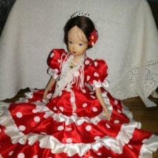 Muñecas Porcelana: MUÑECA GITANA EN PORCELANA. Lote 112815818