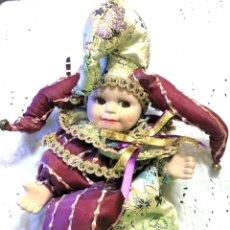 Muñecas Porcelana: ARLEQUIN DE PORCELANA. Lote 112880759