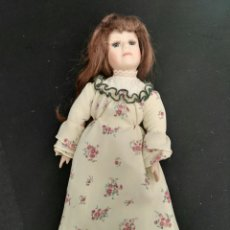 Muñecas Porcelana: MUÑECA PORCELANA PELIROJA. Lote 112985046