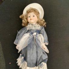 Muñecas Porcelana: MUÑECA PORCELANA. Lote 112986204
