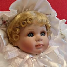 Muñecas Porcelana: IMPRESIONANTE BEBE DE PORCELANA.EN SU CAJA ORIGINAL Y CON CERTIFICADO DE EDICION LIMITADA. Lote 113263211