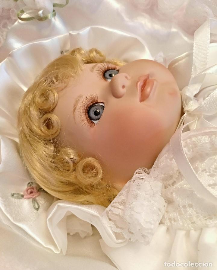 Muñecas Porcelana: Impresionante Bebe de porcelana.En su caja original y con certificado de edicion limitada - Foto 4 - 113263211