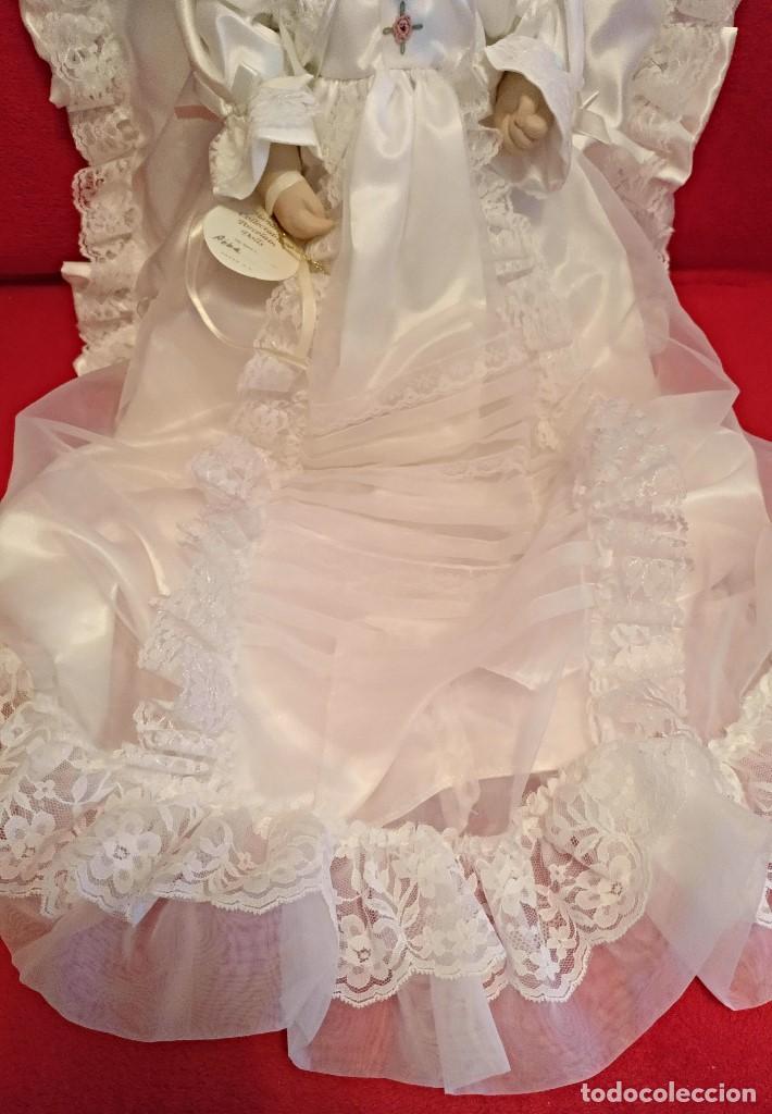 Muñecas Porcelana: Impresionante Bebe de porcelana.En su caja original y con certificado de edicion limitada - Foto 5 - 113263211