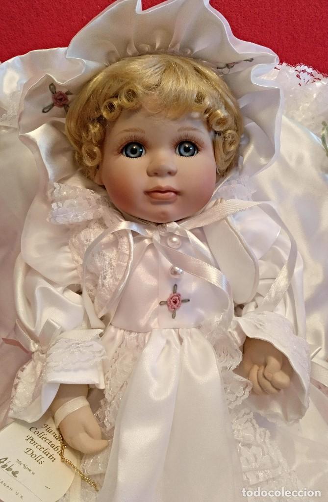 Muñecas Porcelana: Impresionante Bebe de porcelana.En su caja original y con certificado de edicion limitada - Foto 6 - 113263211
