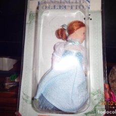 Muñecas Porcelana: COL. MUÑECAS DE PORCELANA VICTORIANAS, EN SU CAJA, COMO NUEVA 15 CTMS.. Lote 113401215