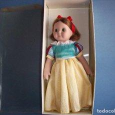 Muñecas Porcelana: MUÑECA DE PORCELANA GOOGLY BLANCANIEVES, EN SU CAJA ORIGINAL. Lote 114243935