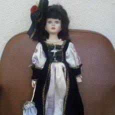 Muñecas Porcelana: MUÑECA DE PORCELANA MEDIDAS 45 CM.. Lote 114290299