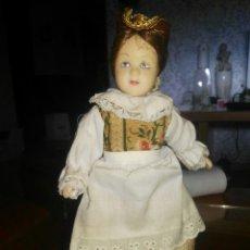 Muñecas Porcelana: PRECIOSA MUÑECA PORCELANA MEDIANITA.ES MUY BONITA.NUNCA USADA.PRECIOSO RECOGIDO.AÑADE A TU COLECCIÓN. Lote 115234208